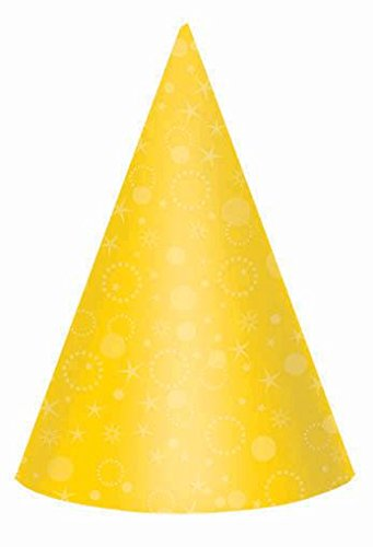 bright clrs prty hats 24ct