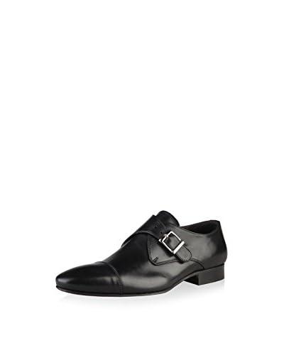 VERSACE 19.69 Zapatos Monkstrap Negro