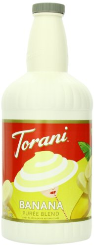 Torani Puree Blend, Banana, 64 Ounce (Pack Of 2)