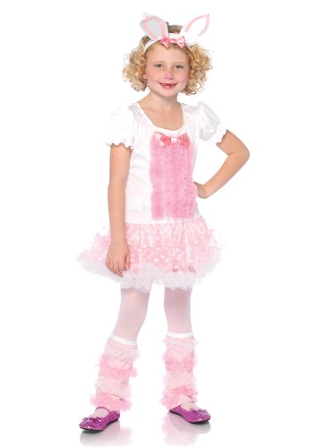 Leg Avenue Fluffy Bunny Small Child Costume
