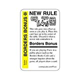 Fluxx Borders Bonus Promo Game Card (NEW RULE) Works with All Fluxx Games & A...
