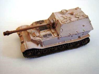 ドイツ軍 エレファント 重駆逐戦車 (88ミリ高射砲搭載突撃砲) 冬季迷彩(ホワイト上塗り)