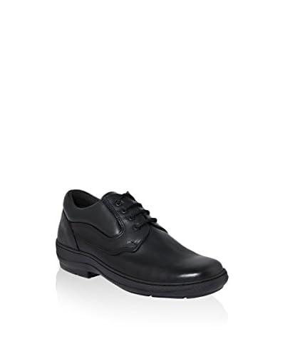 LE DUCCIO Zapatos de cordones Negro