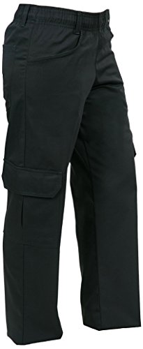 Mercer Culinary M61100BKM Genesis Women's Chef Cargo Pant, Medium, Black (Womens Chef Coats With Pockets compare prices)