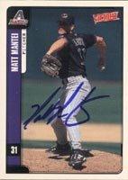Matt Mantei Arizona Diamondbacks 2001 Victory Autographed Hand Signed Trading Card. by Hall+of+Fame+Memorabilia