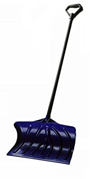 Suncast SP1400 20-Inch Snow Shovel/Pusher, Navy