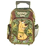 - 	 Scooby Doo Camoflage Large Rolling Wheels Backpack Bag