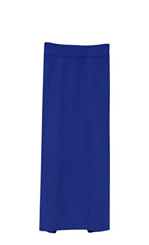Am Clothes Womens Fall Winter Solid Color Hip Package Long Skirt One Size front-466098