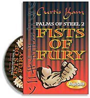 Fists of Fury Curtis Kam Palms of Steel vol. 2- #2, DVD by Penguin Magic (V)