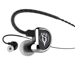 Clear Tune Monitors VS-2 Dual Driver Earphones (Vintage Series) Black