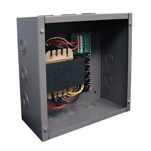 Functional Devices (RIB) PSH200A Enclosed Single 200VA with Five 40VA Class 2 Outputs, 480/347/277/240/120 Vac to 24 Vac power supply