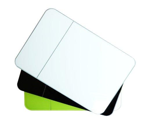 Zak Designs 88-LEDRWG LED Balance de Cuisine Électronique Rectangulaire Blanc