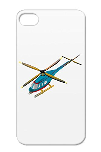 Tpu Navy For Iphone 4S Helicopter Child Art Toddler Baby Shirts Helicopter Family Kids Baby New Children Kids Shirt Child Art Scratch-Resistant Protective Case front-937479