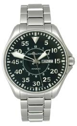 Hamilton Khaki Aviation Black Dial Men's Watch #H64611135