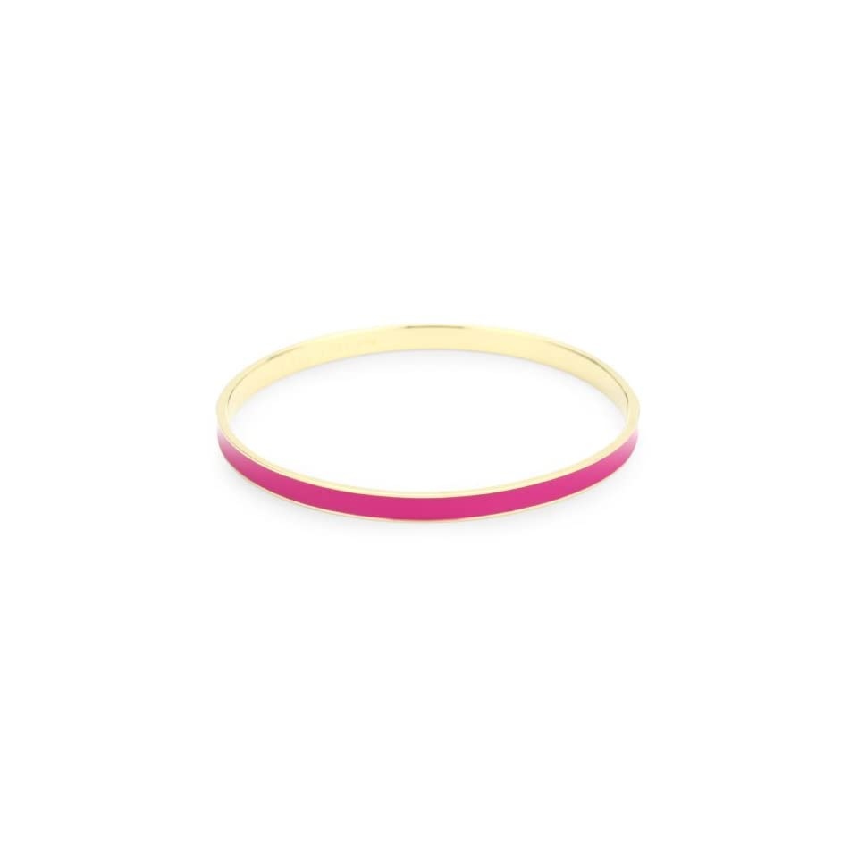 Kate Spade New York The Jewel In The Crown Solid Desert Rose Idiom Bangle Bracelet