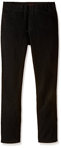 Chic Classic Collection Women's Easy Fit Elastic Waist Pull On Pant, Black Denim, 14 Petite (Women Pants Petite compare prices)