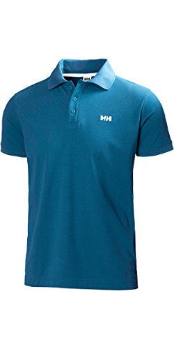 Helly Hansen Men's Drift Line Polo T-Shirt-990 Black, X-Small