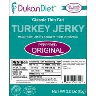 Dukan Diet Hot and Spicy Turkey Jerky -- 3 oz from Dukan Diet