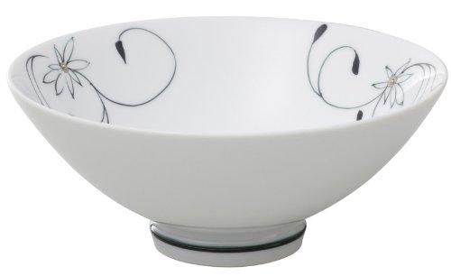 有田焼 匠の蔵 口福(こうふく)なお茶漬け碗シリーズ 碗 (小) 花の舞 T7172