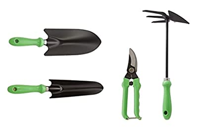 Gardening Tools Set By Home Ezy! Offer more tools, more quality, and more value to eliminate weed plants from your garden including aerator to create better soil! Make your jobs done faster and easier now