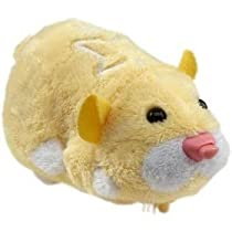 Zhu Zhu Pet Hamster for Sale, Zhu Zhu Pets Hamster Pipsqueek - Yellow from astore.amazon.com