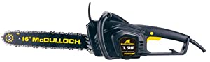 McCulloch MCC3516F 16-Inch 3.5 HP Electric Chain Saw