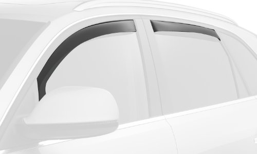 WeatherTech Custom Fit Front & Rear Side Window Deflectors for Honda Odyssey, Dark Smoke