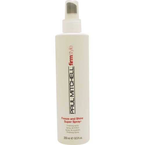 Paul Mitchell Freeze and Shine Super Spray Firm Hold Finishing Spray for Unisex, 8.5 Ounce (Mitchell Freeze Shine compare prices)
