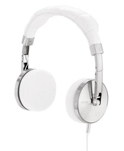 Nixon Nomadic Headphones White, One Size