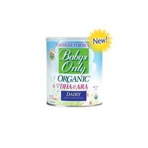 Imagen de Sólo Organic Toddler Formula del bebé lechera con DHA y ARA - 12,7 oz - 6 pk