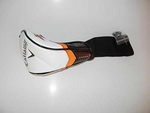 Callaway X2 Hot Fairway Wood Headcover (Black/White/Orange) Golf - 1
