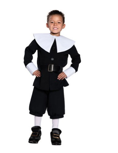 Pilgrim Boy Sm Kids Boys Costume
