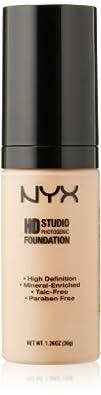 NYX Cosmetics High Definition Photogenic Foundation Soft