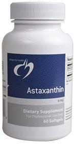 Designs pour la santé - astaxanthine 6 mg. - 60