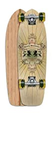 "Gravity Skateboards 27"" Mini Classic 3 Complete Longboard Skateboard"