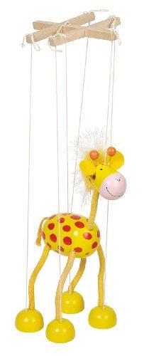 Goki - Marioneta jirafa de madera (51867.0)