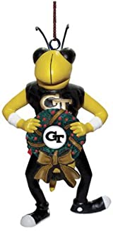 Mascot Wreath Ornament-GA Tech