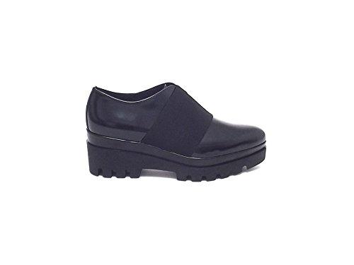 Janet sport donna, articolo 38789, scarpa pelle, nero nr 38 A6102