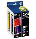Epson T273520 Epson Claria Premium 273 Standard-capacity Color Multi-pack - Cyan, Magenta, Yellow, Photo Black (T273520) Ink