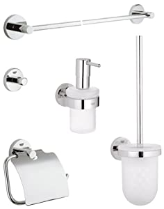 ... , Set di accessori da bagno, 5 pezzi - 40439000: Amazon.it: Fai da te