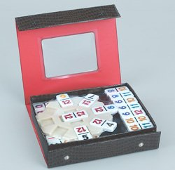 NUMERICAL MEXICAN TRAIN DOMINO GAME by Fame Products
