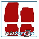 CHRYSLER JEEP PATRIOT (2006 on) RED FULLY TAILORED CAR FLOOR MAT SET