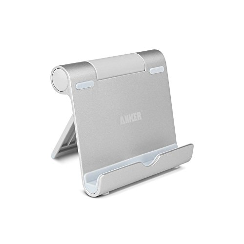 Anker-Multi-Angle-Portable-Stand-for-Tablets-7-10-inch-E-readers-and-Smartphones-Durable-Aluminum-Body-Compatible-for-Apple-iPads-iPad-Air-iPad-Mini-New-iPad-Mini-iPhone-5S-5C-5-4S-4-Samsung-Galaxy-Ta
