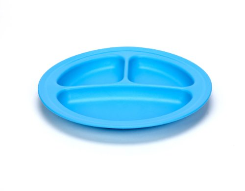 Green Eats 2 Pack Divided Plates, Blue