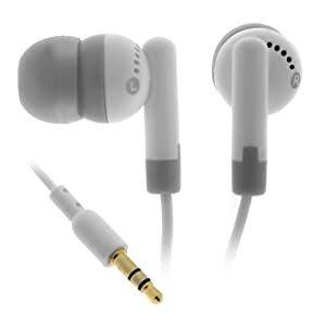 Stereo Earbud Headphone for Apple iPod nano/ iPod mini/ iPod video/ iPod shuffle