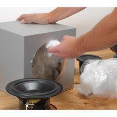 Acousta-Stuf Polyfill Speaker Cabinet Sound Damping Material 1 lb. Bag