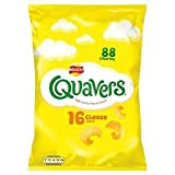Walkers Quavers Cheese Flavour 16 Individual Bags