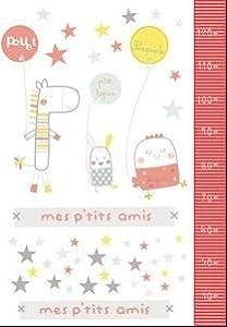 Pirulos-Vinilo Colección Lapin- Medida 100x70 por Coimasa - BebeHogar.com