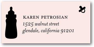 Address Labels - Baby Tea
