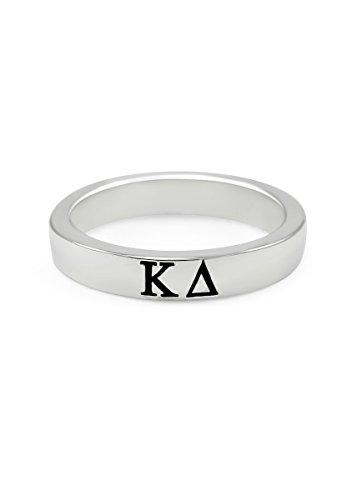 Kappa-Delta-Sterling-Silver-Skinny-Band-Ring-80